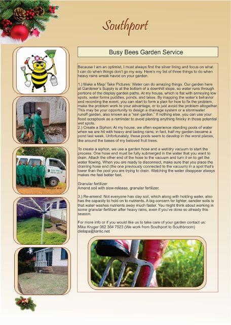 Busy Bee's Garden Service