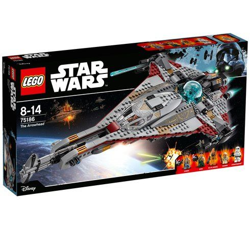 Superb LEGO 75186 Star Wars The Arrowhead Now At Smyths Toys UK! Buy Online Or Collect At Your Local Smyths Store! We Stock A Great Range Of LEGO Star Wars At Great Prices.