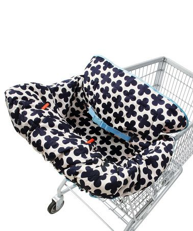 Take a look at this Lil' Fluff Cart Shopping Cart Cover by Welcome Baby Boutique on #zulily today!