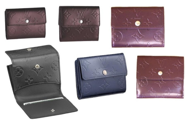New colours for wallets -2013 LV Collection