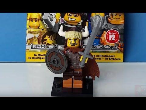 LEGO Minifigures series 12: Viking. Children interactive videos. Blue Or...