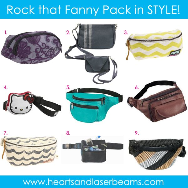 Did you know there really is such a thing as a cute fanny pack?