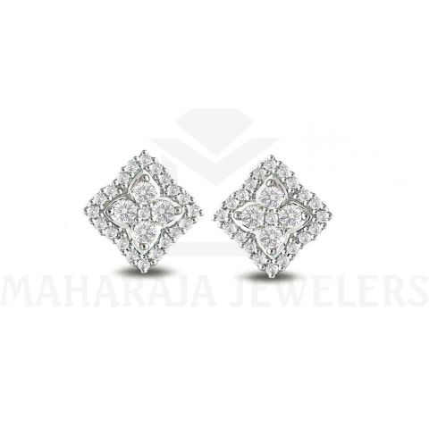 #DiamondEarrings #PlatinumDiamondEarrings