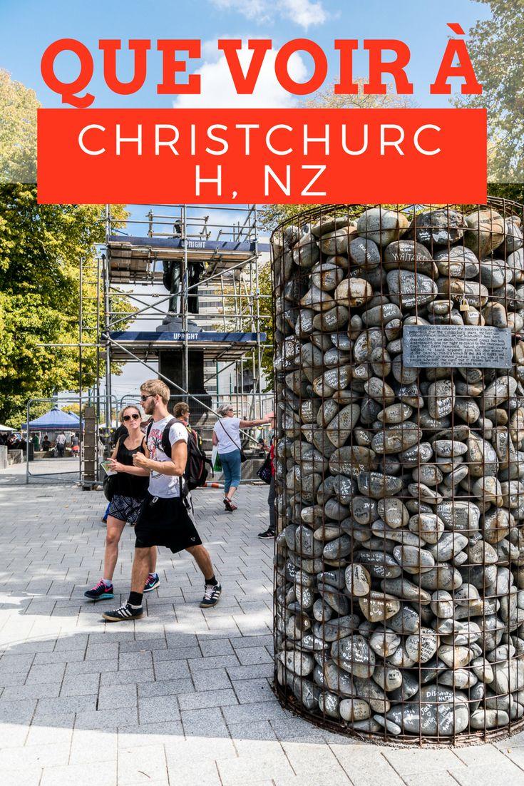 Christchurch, troisième ville de Nouvelle-Zélande, est une ville attachante toujours en cours de reconstruction après le tremblement de terre de 2011. Visité guidée.