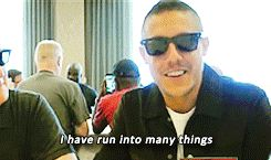 Theo Rossi talks about the Shades he wore in Luke Cage. (#3) NETFLIX
