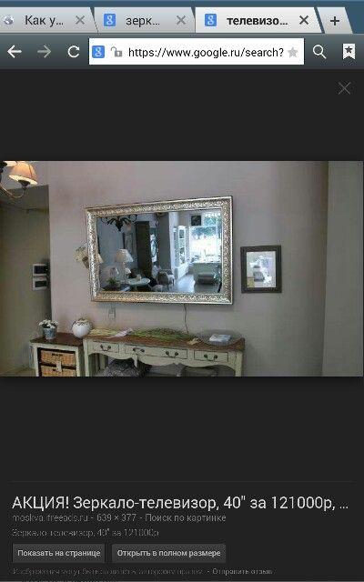 Зеркальный телевизор