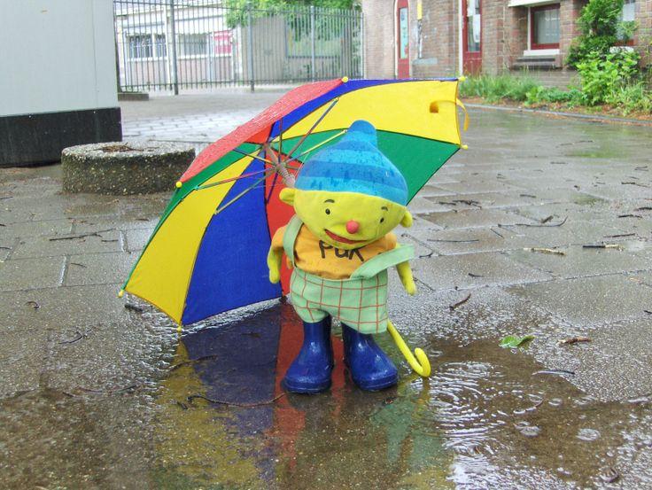 puk in de regen