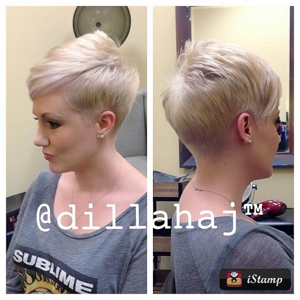 .@dillahaj | @lovecandralee is loving her new #shorthair a little bit more due to a little...