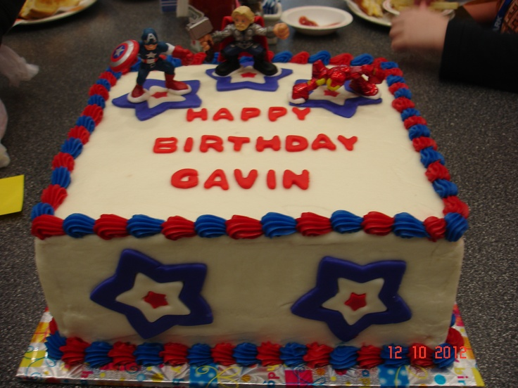 My cousin's 7th Birthday cake