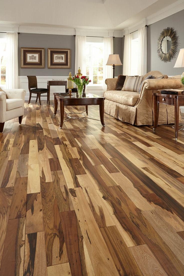 Superb Holzfu b den Holzb den Vinyl b den Badezimmer Rustikalen B den Bodengestaltung Pecan Holz Unique Flooring Flooring Ideas Concrete Floor