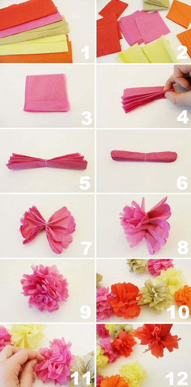 Now that's pretty: DIY Cinco de Mayo Pom Pom Garland