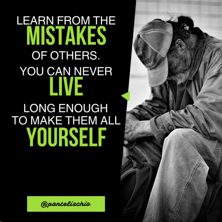 Learn from the mistakes of others. You can never live long enough to make them all yourself. #quotes #lifequotes #mindset #entrepreneur #motivation #business #smallbusiness