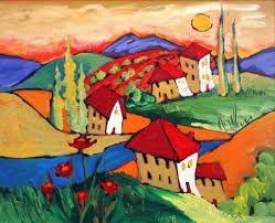 Bilderesultat for contemporary acrylic painting