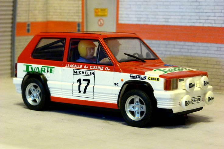 Scalextric Tecnitoys 6196. SEAT Panda Grupo 2. Rallye de Talavera 1982, Carlos Sainz-Carlos Sainz. #slotcar