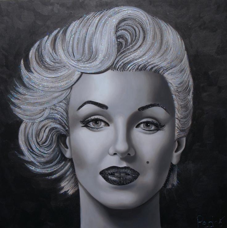 Marilyn Monroe by Pedno 36x36
