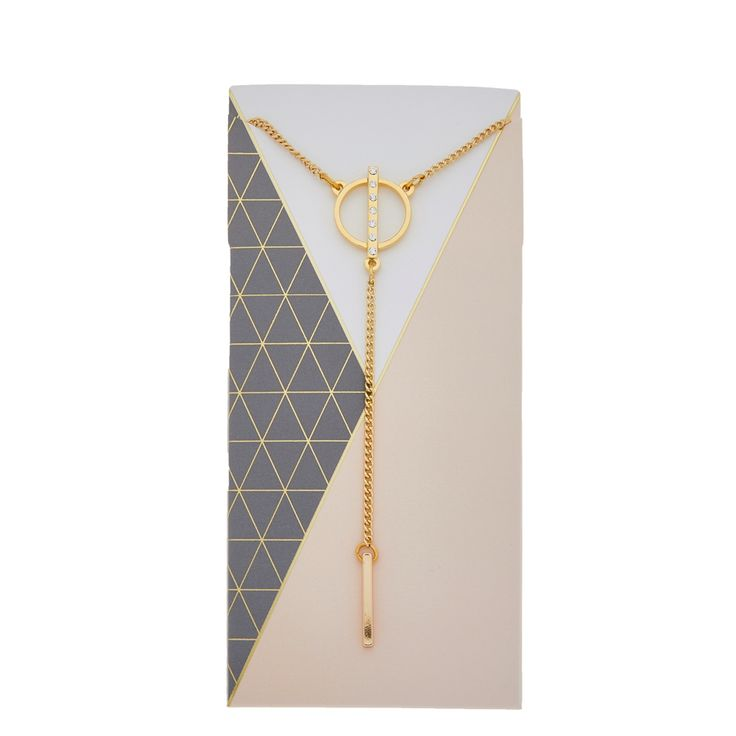Dawn Necklace in gold - available in gold and silver. $24.  #goldnecklace #goldjewelry #ynecklace #chainnecklace #localbusiness #foxyoriginals