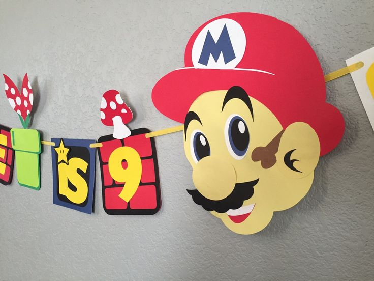 A personal favorite from my Etsy shop https://www.etsy.com/listing/252605233/super-mario-birthday-banner