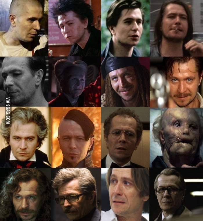 1 actor, 16 characters, 0 oscars