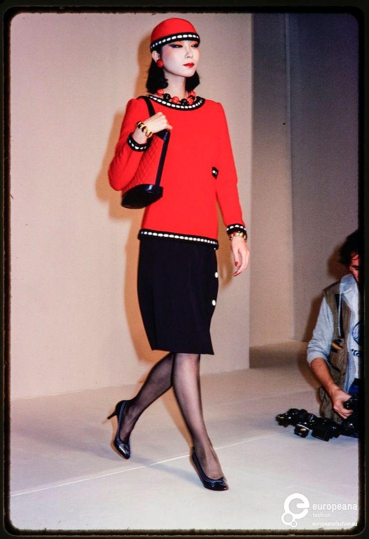 Fashion show Yves St. Laurent on www.europeanafashion.eu