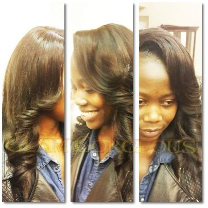 48 best hair extensions weaves images on pinterest hair full hair weave with a closure piece using our virgin peruvian human hair gauranteed no pmusecretfo Choice Image