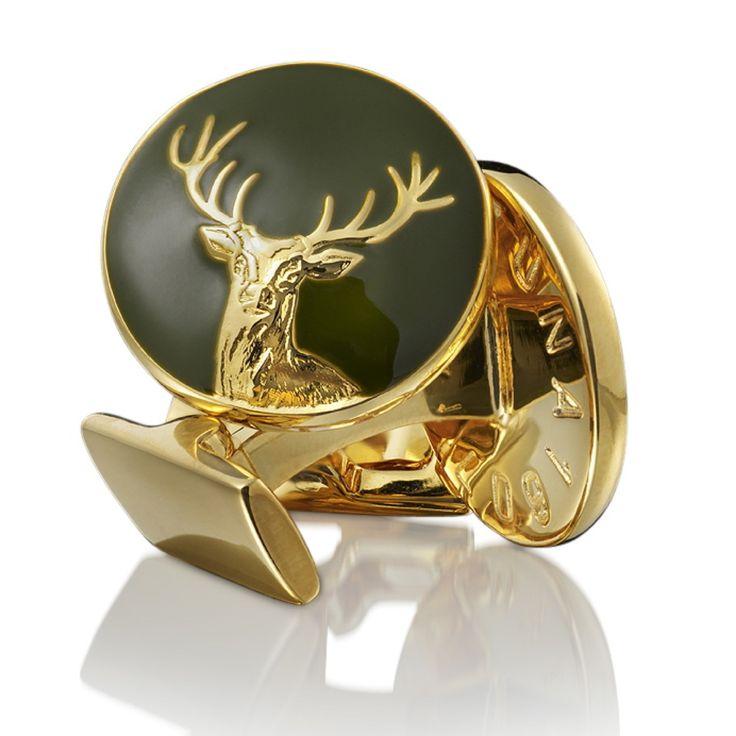 Deer Hunter Cufflinks ...repinned vom GentlemanClub viele tolle Pins rund um das Thema Menswear- schauen Sie auch mal im Blog vorbei www.thegentemanclub.de