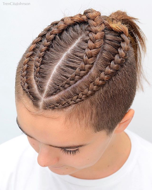 Boys Braids For My Son Who Allowed Me To Play With His Hair