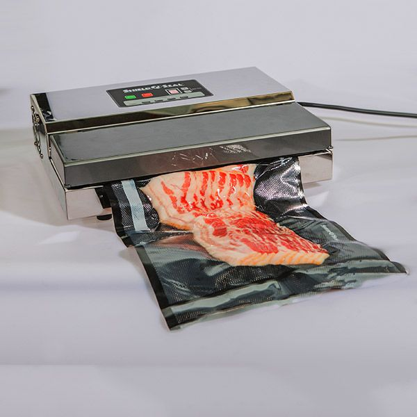 11 X 24 Clear And Black Vacuum Sealer Bags SNS 300