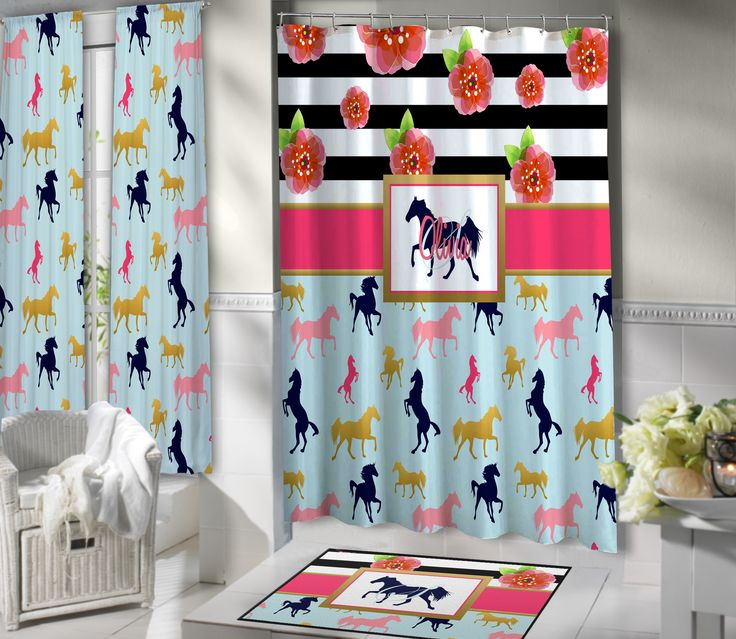 Shower Curtains With Horses On Them