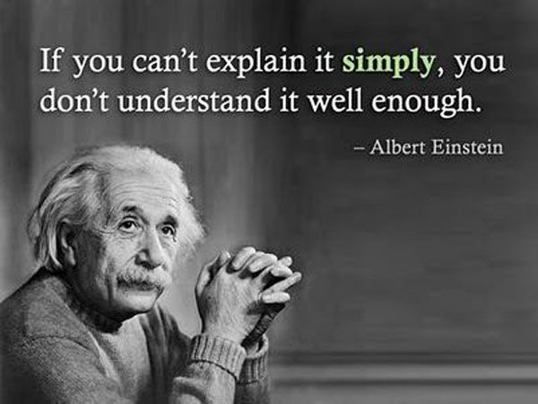Something I like to keep in mind with my advanced students and work with them on being able to explain their thinking to others.