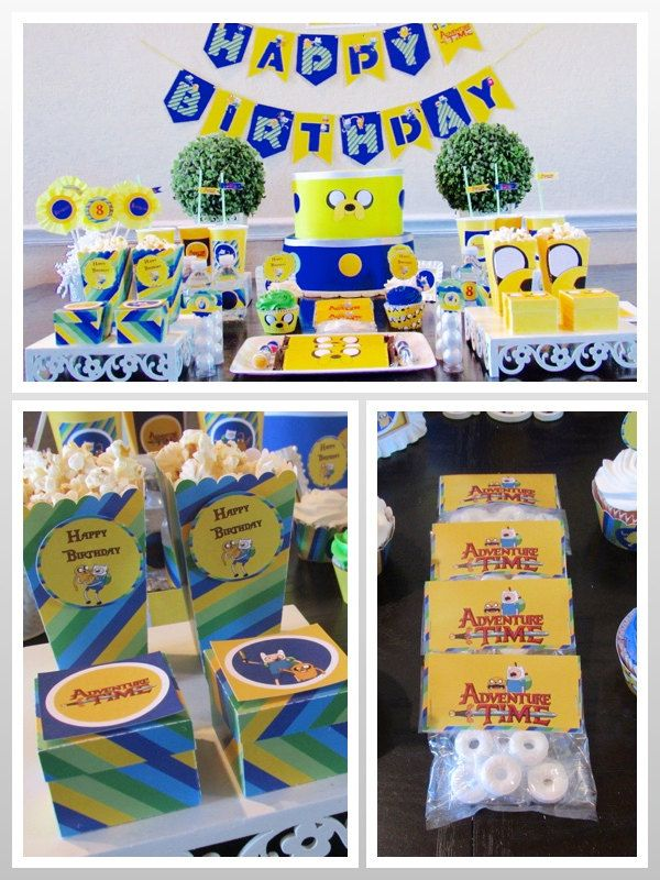 11 best Adventure Time Birthday Party images on Pinterest ...