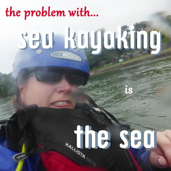 I will start this post by pointing out that sea kayaking today involves a lot of things that frighten me and as I wrote this, I felt more and more like one of these people who's scared of too many things to ever leave the house. Things I was scared of today, in no particular… More The problem with sea kayaking is the sea