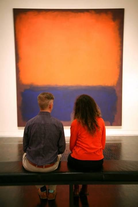 "Have you checked out SFMOMA's Rothko in its temporary new digs at the Contemporary Jewish Museum for the collaborative show ""Beyond Belief: 100 Years of the Spiritual in Modern Art""? The exhibition, part of SFMOMA On the Go, is open now through October 27, 2013! Click through for more info."