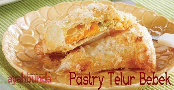 Pastry Telur Bebek :: Duck Egg Pastry :: Klik link di atas untuk mengetahui resep pastry telur bebek