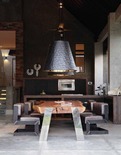 Osiris Hertman stunning lamp and table
