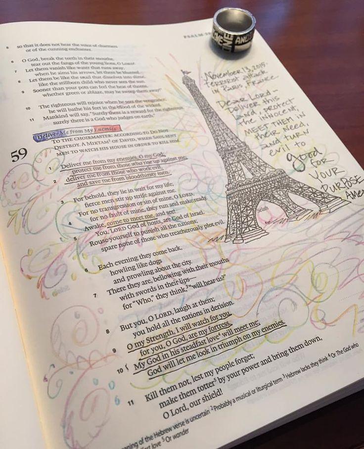 Psalm 59, prayers for France Pat Maier