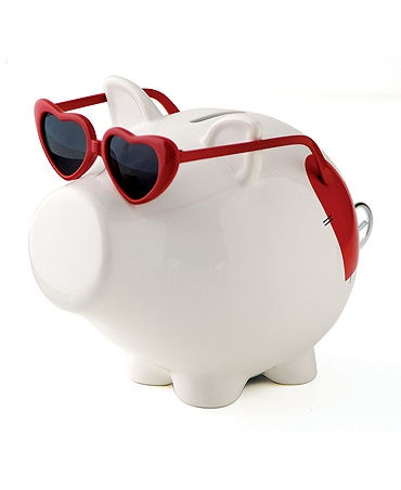 This red hot piggy (bank) is too cute!