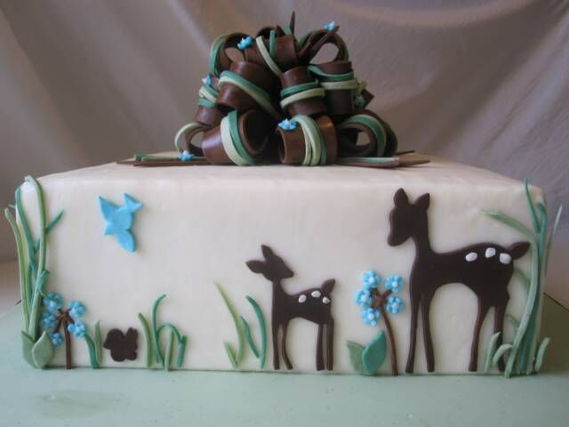 deer baby showers shower baby baby shower cakes deer cakes baby deer