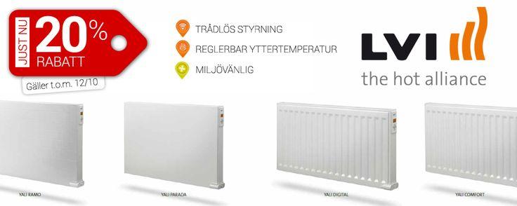 LVI Radiatorer NU -20% http://www.smarthem.se/223/k/lvi-radiatorer--20/