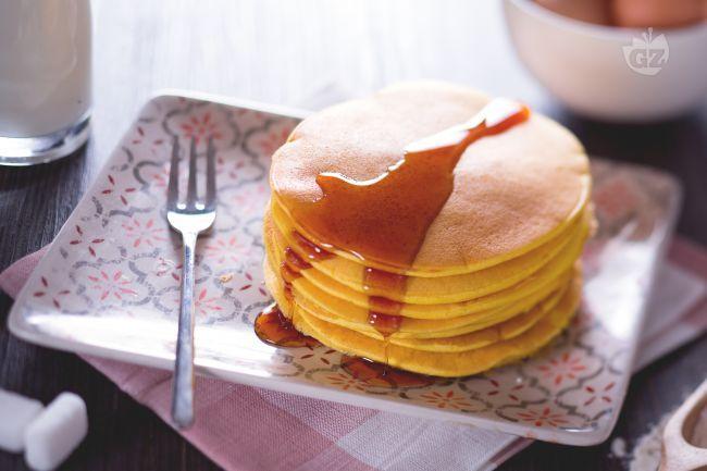 Ricetta Pancakes allo sciroppo d'acero - Le Ricette di GialloZafferano.it