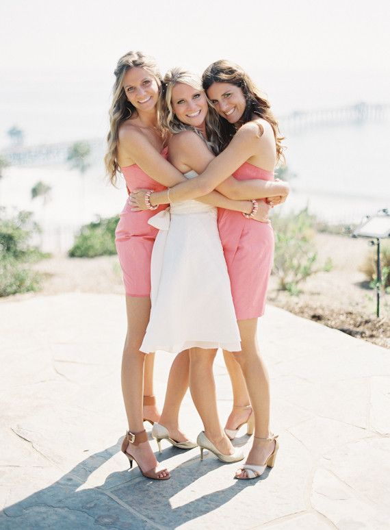 Awww so sweet! San Clemente wedding   Real Weddings and Parties   100 Layer Cake