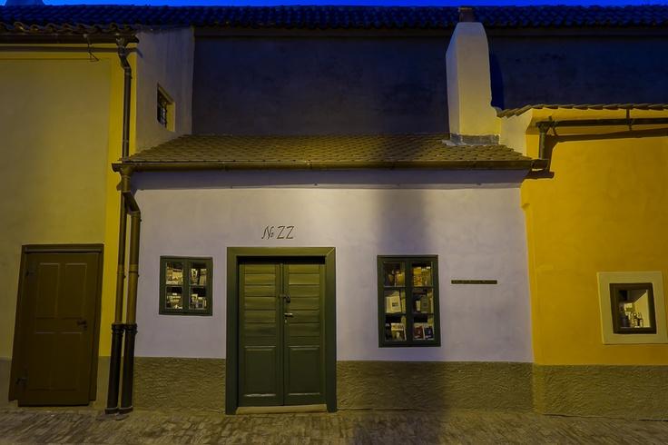 Praha, Zlata ulicka No 22, Franz Kafka house