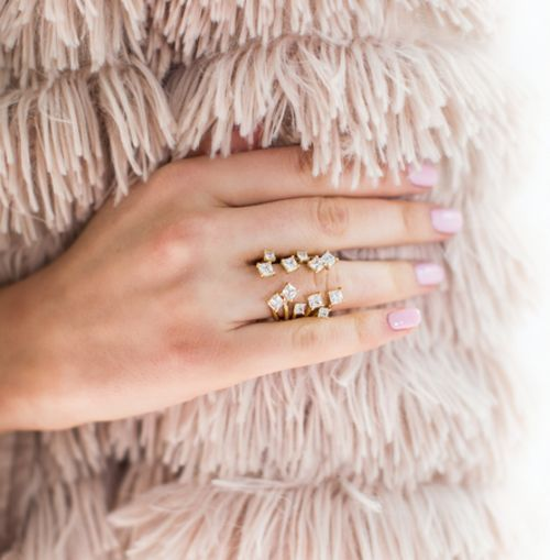 Baubles. You'll love these gorgeous stacking rings
