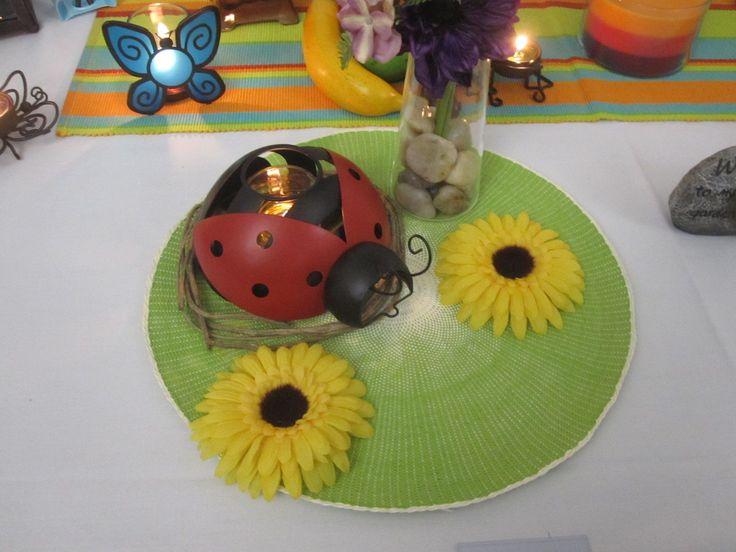 Ladybug Hanging Votive Holdeer