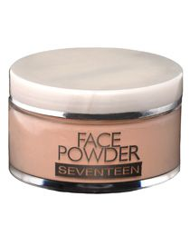 Loose Face Powder | Seventeen Cosmetics Face powder in loose form, for a superior matte finish! #Seventeen #Cosmetics #powder #makeup