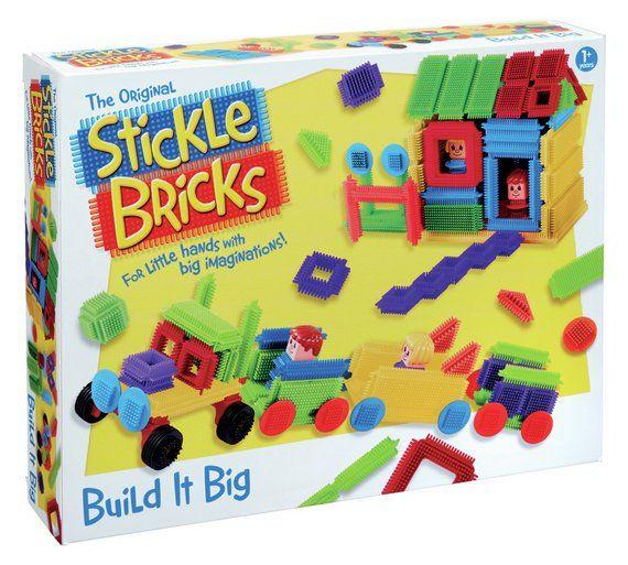 Buy Stickle Bricks Build it Big Box at Argos.co.uk, visit Argos.co.uk to shop online for Construction toys, LEGO and construction toys, Toys
