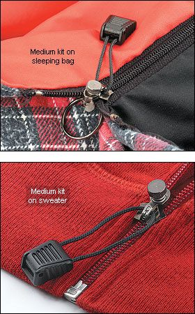 Zipper repair kits, already need at least two of these.  Comes in two sizes according to zipper widths.