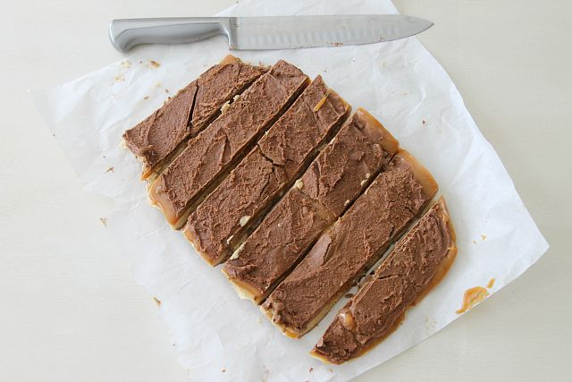 Homemade Snickers Bars Recipe...with a twist -