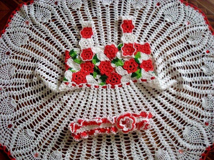 Купить Коллекция платьев - ручная работа, ручная работа handmade, ручное вязание, Вязание крючком