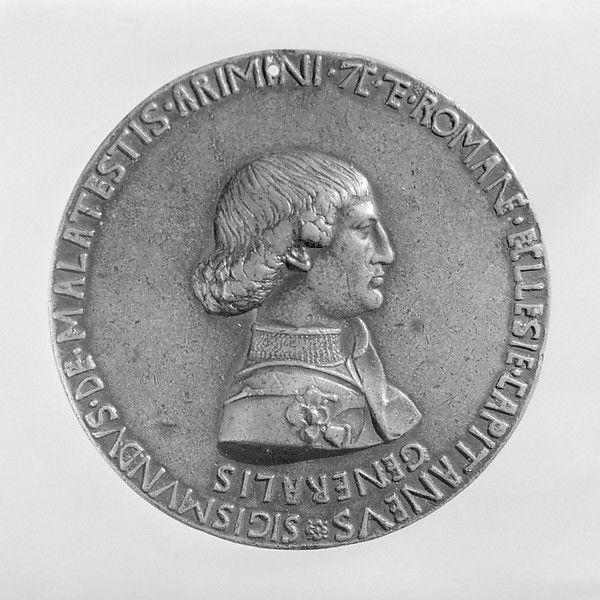 Sigismondo Malatesta (Lord of Rimini 1432, lived 1417–1468) Medalist: Pisanello (Antonio Pisano)