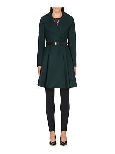 TED BAKER Laureol wool-blend coat